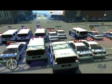 GTA IV BUSTED x4 & 8 Track Demolition Derby