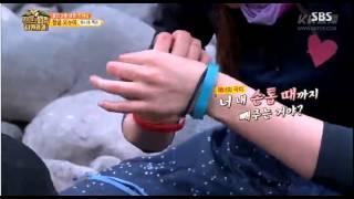 150911 Jackson GOT7 & Hani EXID - SBS Laws Of The Jungle