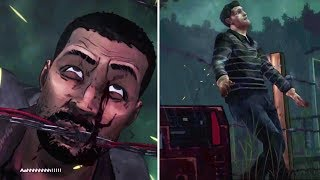 Lee Shoots Andy vs Andy Electrocutes Lee to Death -All Choices- The Walking Dead