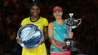 Serena Williams v Angelique Kerber highlights (Final) | Australian Open 2016