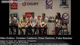 Publishers Ask Me Anything   PANEL