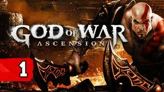 God of War Ascension Gameplay Walkthrough - Part 1 Wrath of the Furies Let's Play Commentary