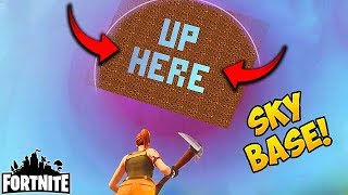 EPIC SKY BASE TROLL! - Fortnite Funny Fails and WTF Moments! #118 (Daily Moments)
