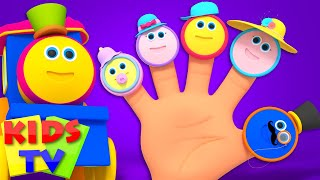 Bob The Train Finger Family Nursery Rhymes Song For Children  KidsBob the train S02EP03