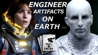 Dr.Shaw Diary Reveals Engineer Visits & Artifacts on Earth Prometheus Extra Material