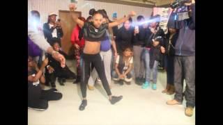 Hip Roll Battle - LEXI vs CB (part 2) - DA WAR ZONE (Raw & Uncut)