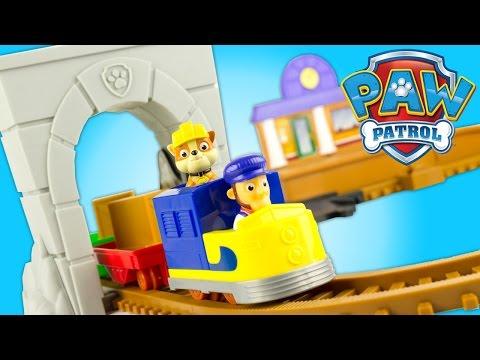 Pat Patrouille Train Electrique Grande Vallée Adventure Bay Railway Jouet Toy Patrulla de Cachorros