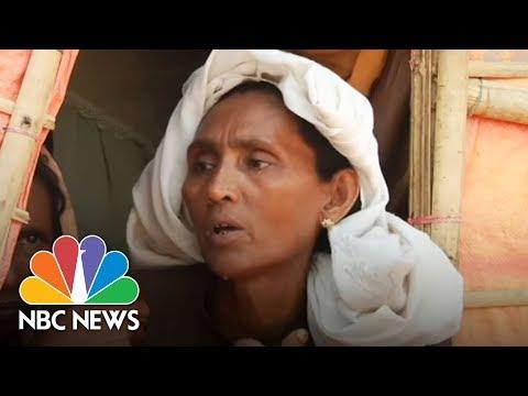 Rohingya Muslim Refugees Prepare For Monsoon Danger   NBC News