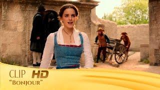 La Bella y la Bestia | Clip: 'Bonjour' en español | HD