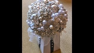 #1 Best How To DIY Brooch Bouquet Tutorial Part 1
