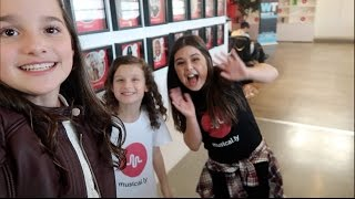 At Musical.ly HQ with Sophia Grace (WK 308.7) | Bratayley