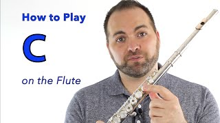 Beginner Flute Lesson 7 - How to Play C