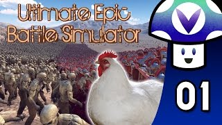 [Vinesauce] Vinny - Ultimate Epic Battle Simulator (part 1) + Art!