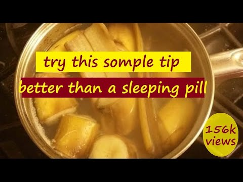 How to fall Asleep Fast - Wonderful Drink that is Better than Sleeping Pill