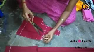 Blouse Cutting In Telugu