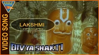 Divya Shakti (Trinetram) Hindi Dubbed Movie || Lakshmi Narasimha Video Song || Eagle Hindi Movies