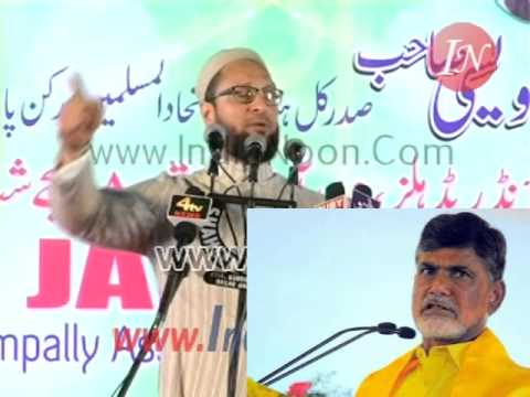 Asaduddin Owaisi challenges Chandrababu Naidu for a debate on Nizam of Hyderabad