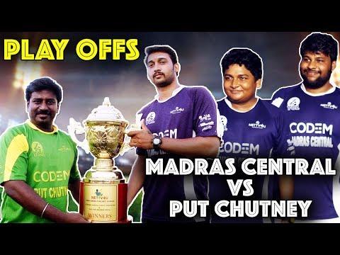 Xxx Mp4 Madras Central Vs Put Chutney Cricket Match Gopi Sudhakar 150 Runs Partnership YCL Play Offs 1 3gp Sex