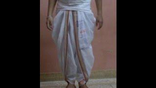 How to Wear a Kshatriya-Style Dhoti