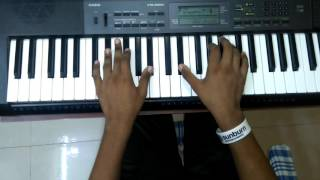 Anirudh Ravichander's - Sirikkadhey (Remo)  Cover keyboard