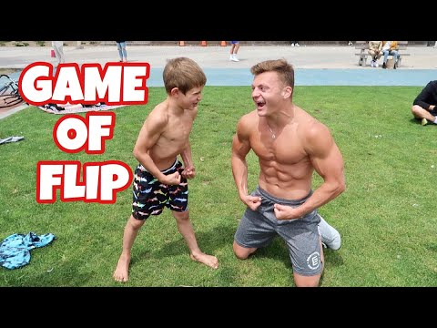 FLIPPING GAME VS AN 8 YEAR OLD