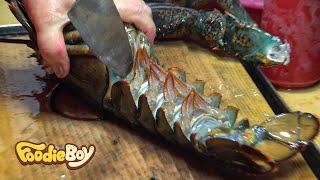 부산 해운대 포장마차촌 / 랍스타 세트(Lobster with Side Dishes) / Korean Street Food / Haeundae-Gu, Busan Korea