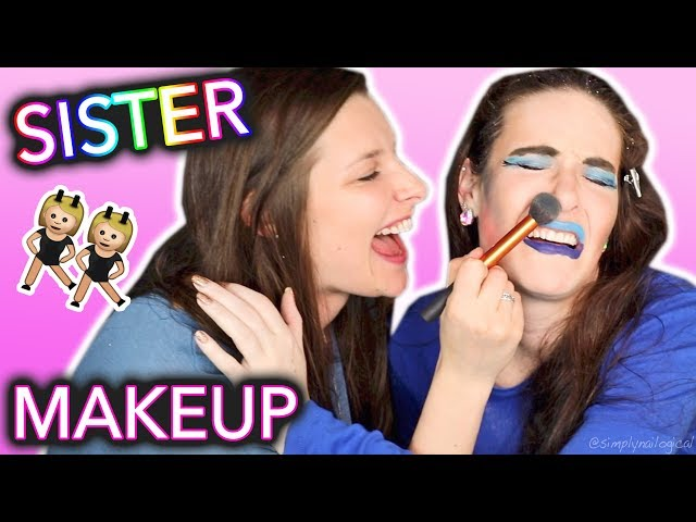 My Sister Does My Makeup and Ruins my Makeup Career