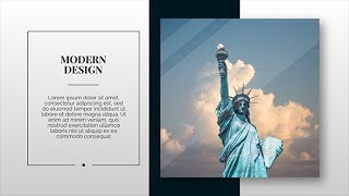 download modern & clean presentation - after effects template from, Presentation templates