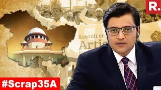 Alienate Or Integrate Kashmir?   The Debate With Arnab Goswami