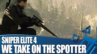 Sniper Elite 4 PS4 Gameplay - We Take On The Spotter