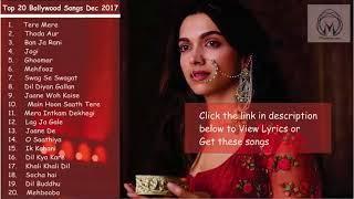Top 20 New Bollywood Songs Jukebox 2018