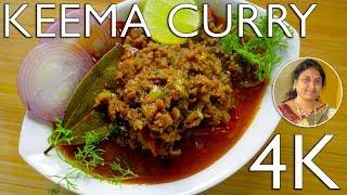 Hyderabadi Keema Recipe | Mutton Keema Curry | UHD 4K