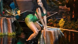 WTF! Nicki Minaj's Booty Shaking Too Explicit?! (2014 MTV VMAs)