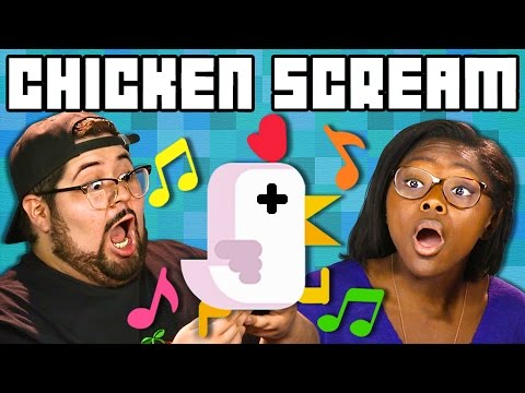 CHICKEN SCREAM GAME Teens & College Kids Play Together React Gaming