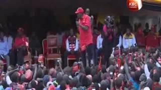 President Kenyatta takes campaigns to Murang'a