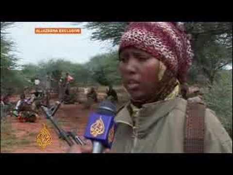 Female fighters in Ogaden region 16 Apr 08