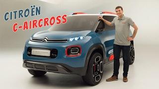 Citroen C-Aircross 2017 : vidéo du concept-car du salon de Genève