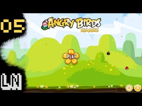 Let s Play Angry Birds Seasons 05 Look at all them eggs.