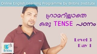 Spoken English in Malayalam- Level 3, Day 1