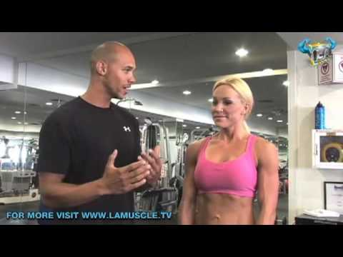 Miss Fitness Work Out With Celeb Trainer