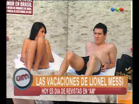 ¿La Novia de Messi Sin Bombacha AM