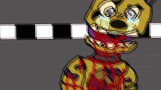 [WARNING GORE] Purple Guy's death | Animation | Five nights at Freddys