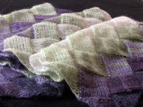 Learn to Knit Entrelac Part One