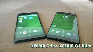 Xperia C4 vs. Xperia C5 Ultra