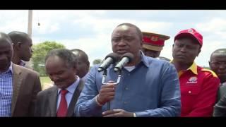 President kuruguria tabarira cia uthii wa nambere Nyeri na Laikipia
