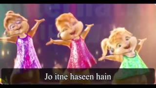 Laila Main Laila Video dance Chipmunks with Lyrics   Raees   Shah Rukh Khan & Su HD