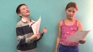 Kids Cold Reading Acting Class