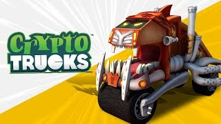 Kids TV Channel | Crypto Trucks | Meet Sasquash | Crypto Force | Big trucks for children | Ep#01