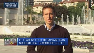 EU leaders look to salvage Iran nuclear deal in wake of US exit | In The News