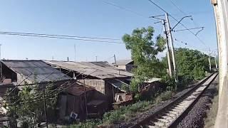 Ереван - Гюмри ЮКЖД на электропоезде. Часть 1. Ереван - Аракс